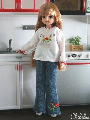 Chibiloo's Licca & Jenny dolls : Sous le soleil... (P.2) Liccamalika1