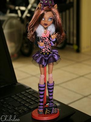 Chibiloo's Monster High dolls Monsterhighwolfy1